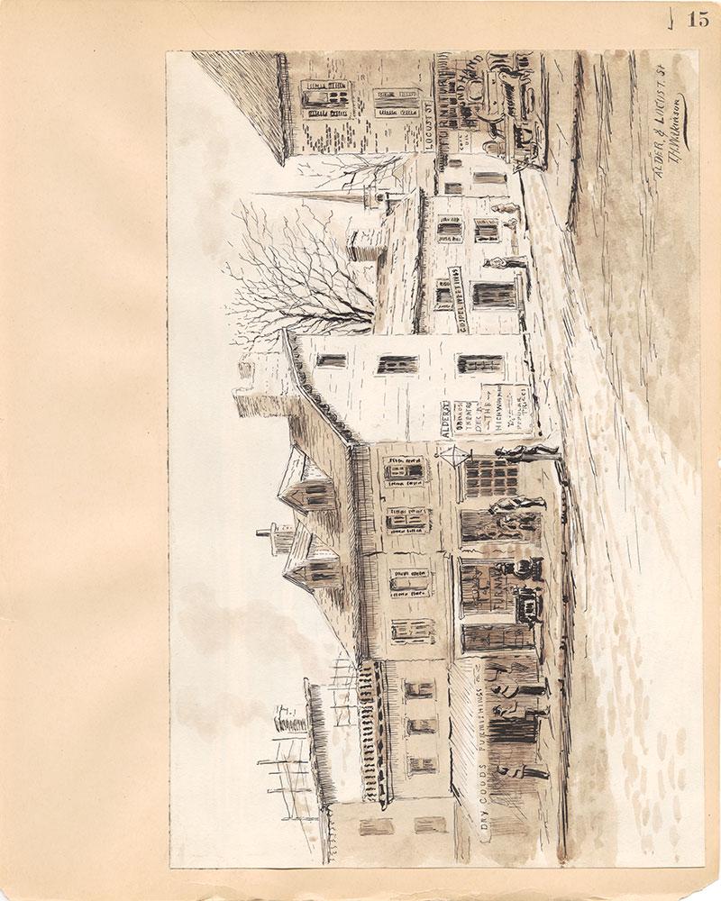 Castner Scrapbook v.31, Old Houses 5, page 15