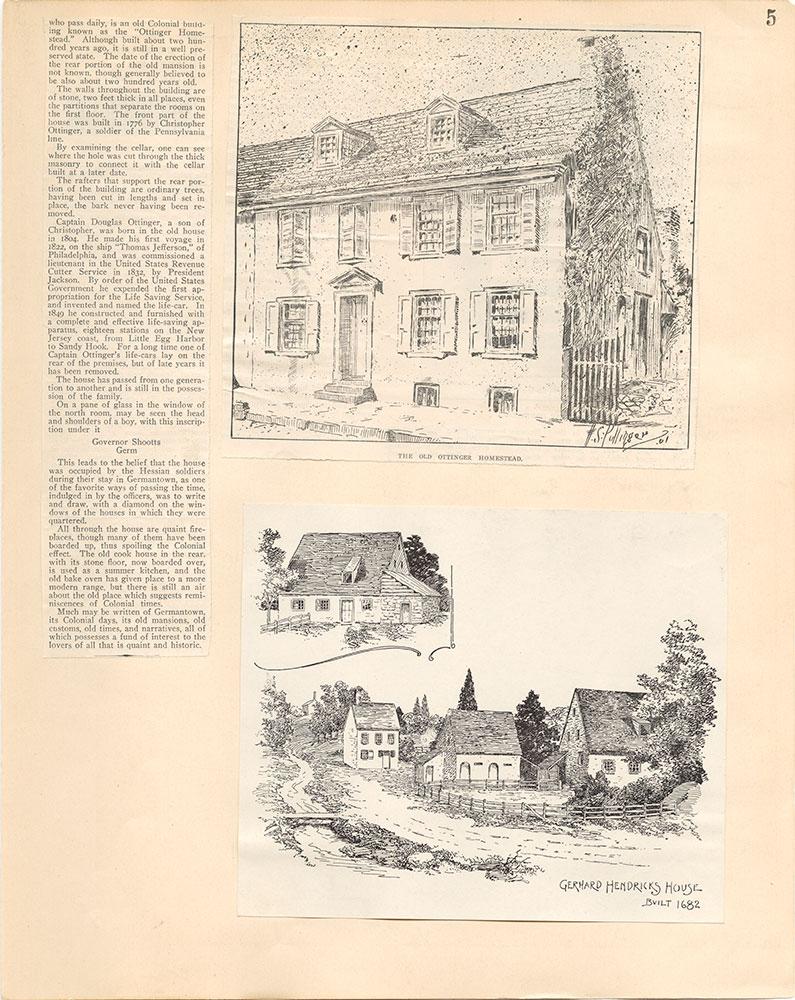 Castner Scrapbook v.38, Germantown 2, page 5