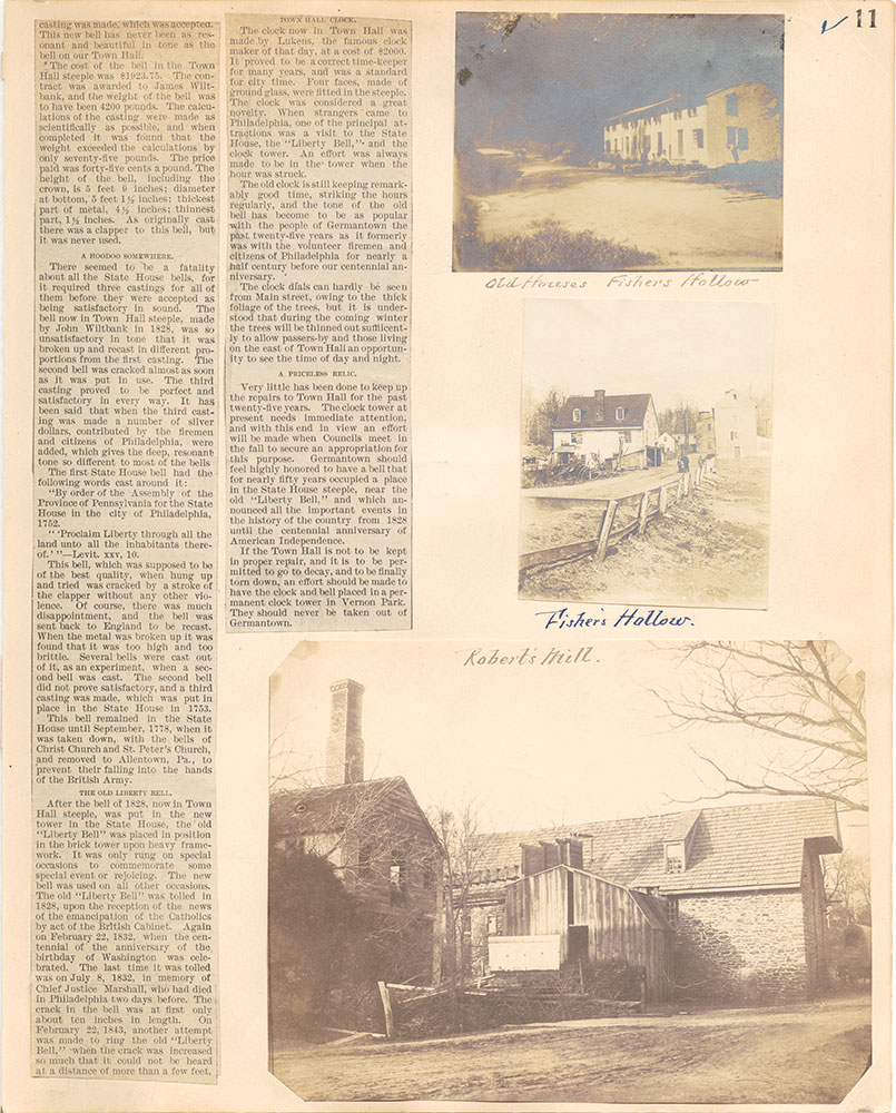 Castner Scrapbook v.38, Germantown 2, page 11