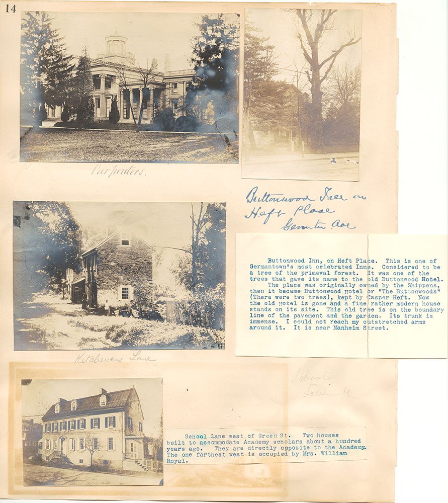 Castner Scrapbook v.38, Germantown 2, page 14