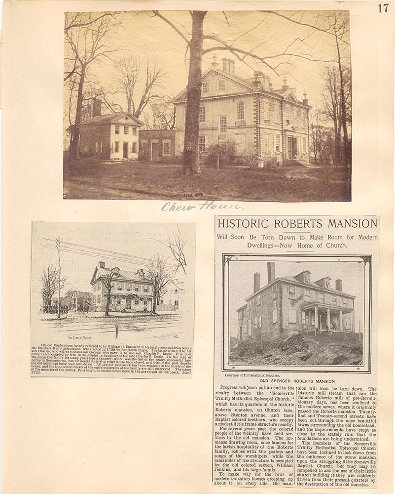 Castner Scrapbook v.38, Germantown 2, page 17