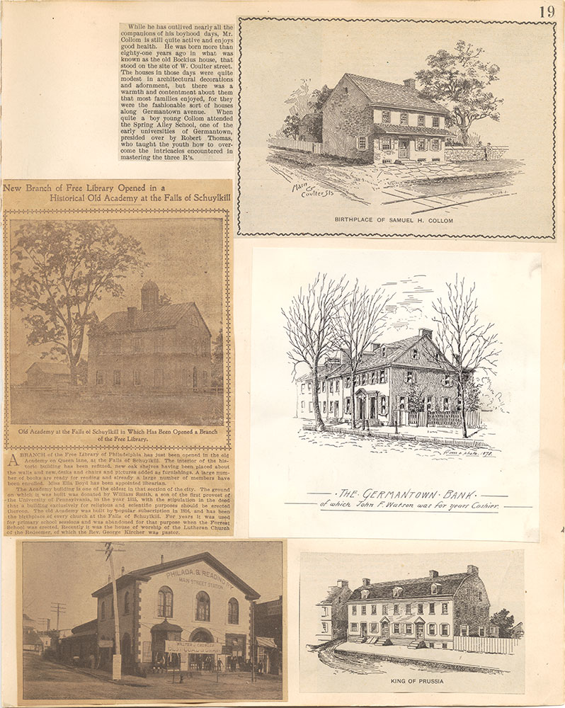 Castner Scrapbook v.38, Germantown 2, page 19