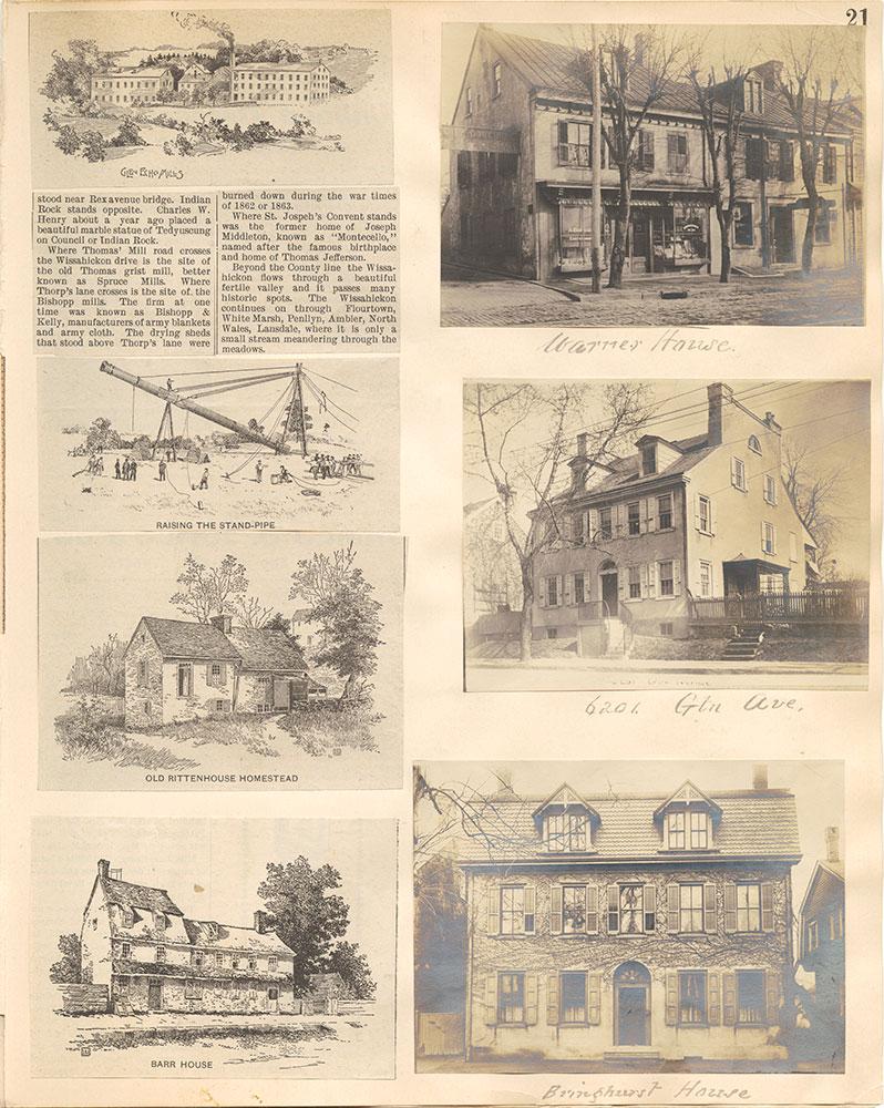 Castner Scrapbook v.38, Germantown 2, page 21