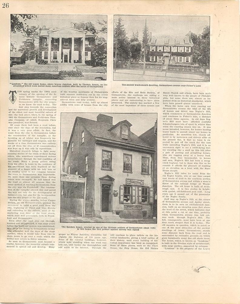 Castner Scrapbook v.38, Germantown 2, page 26
