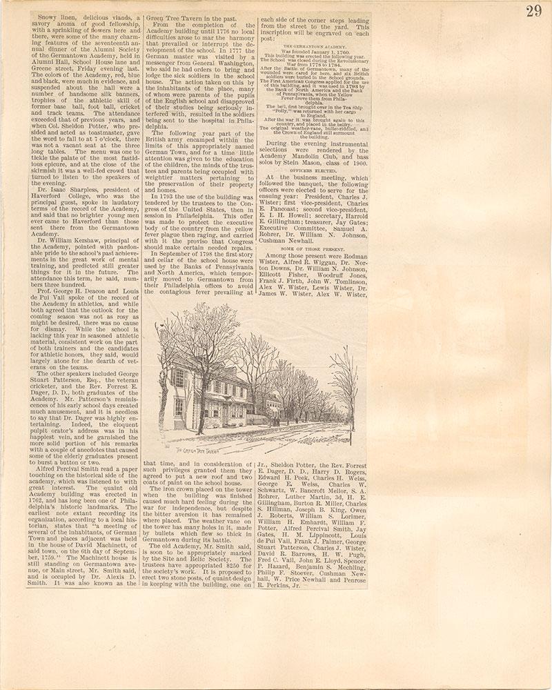 Castner Scrapbook v.38, Germantown 2, page 29