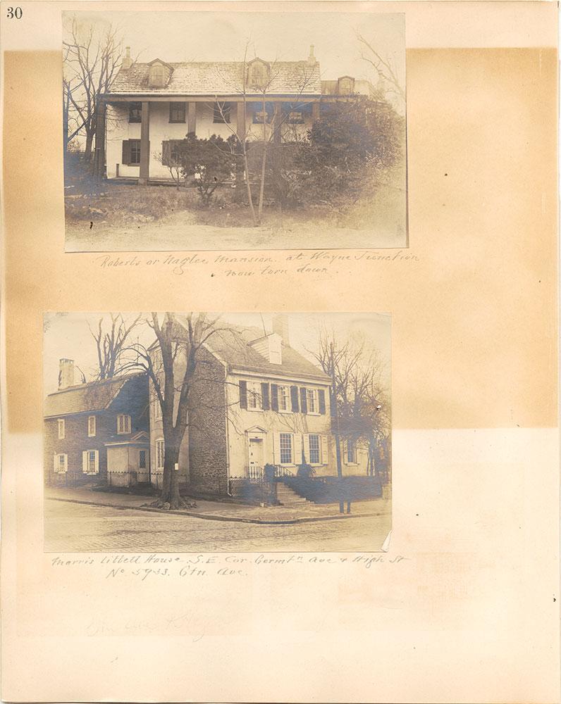 Castner Scrapbook v.38, Germantown 2, page 30