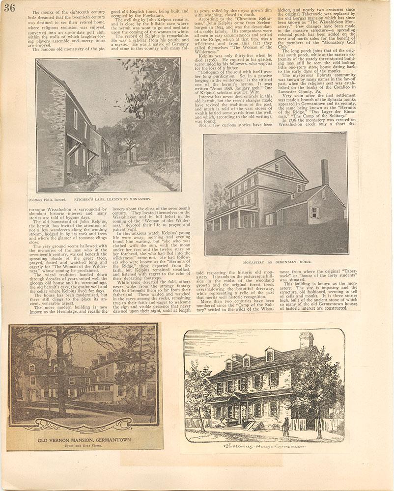 Castner Scrapbook v.38, Germantown 2, page 36