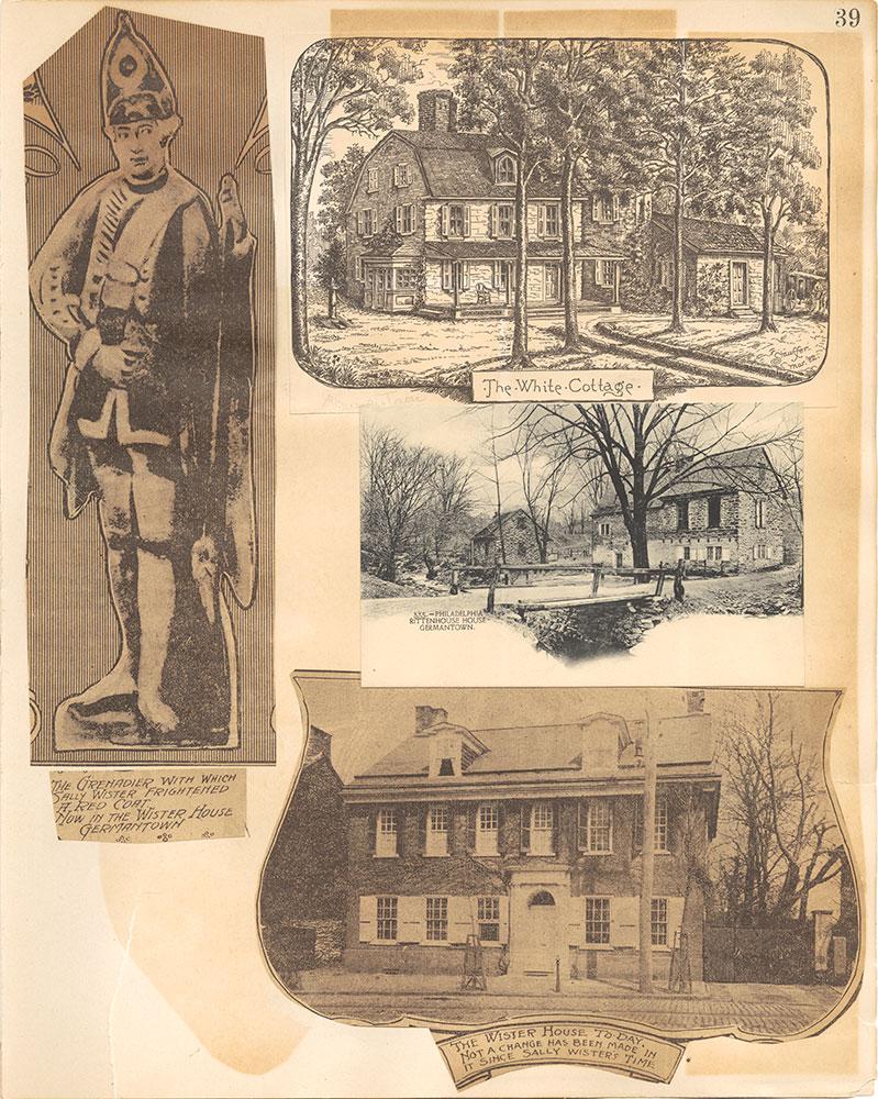 Castner Scrapbook v.38, Germantown 2, page 39
