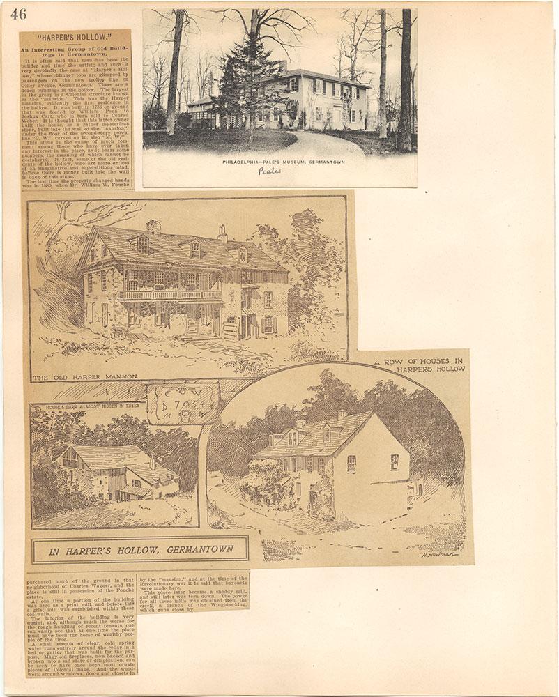 Castner Scrapbook v.38, Germantown 2, page 46