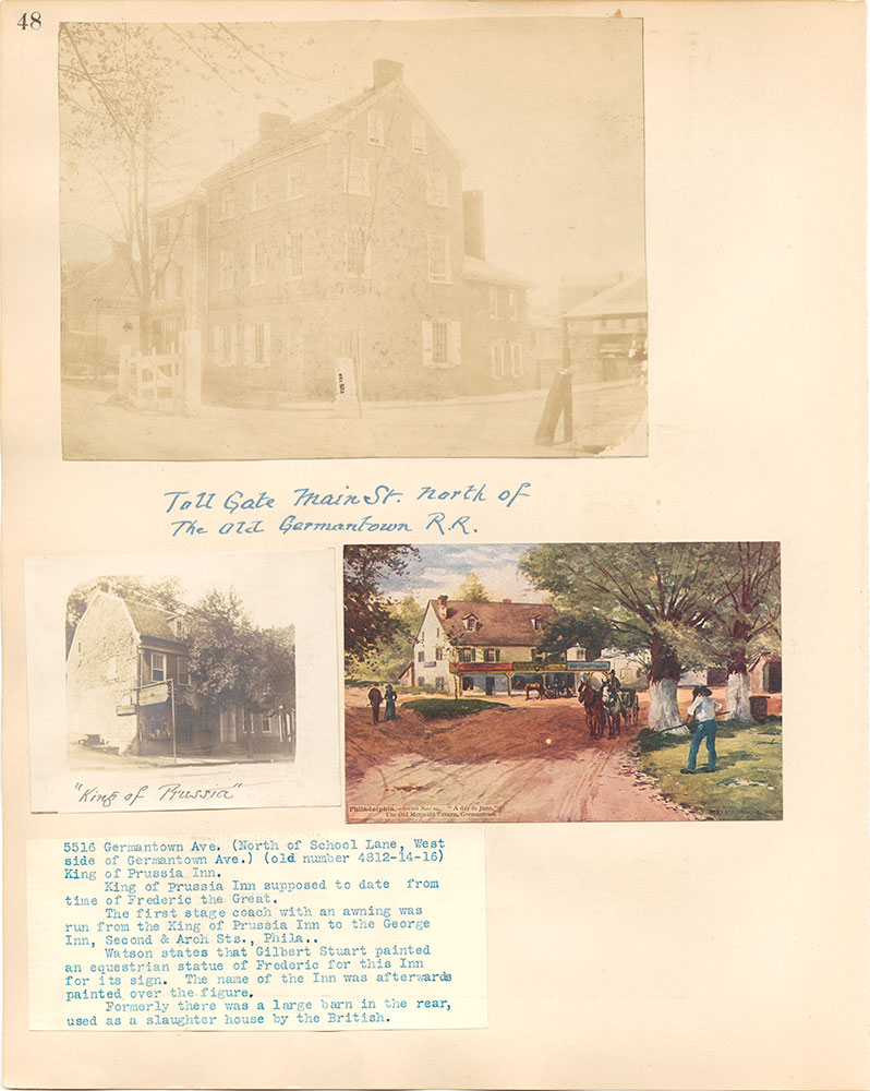 Castner Scrapbook v.38, Germantown 2, page 48