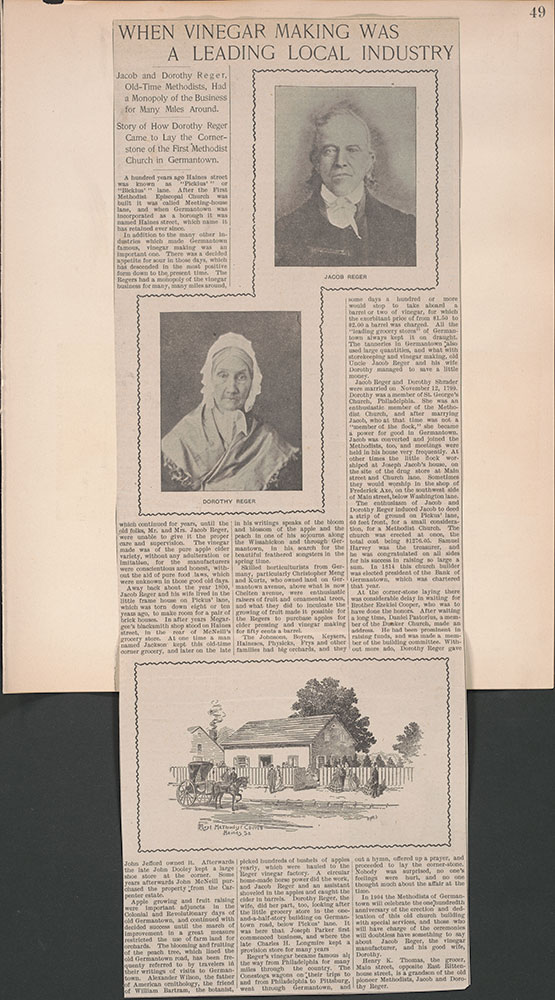 Castner Scrapbook v.38, Germantown 2, page 49