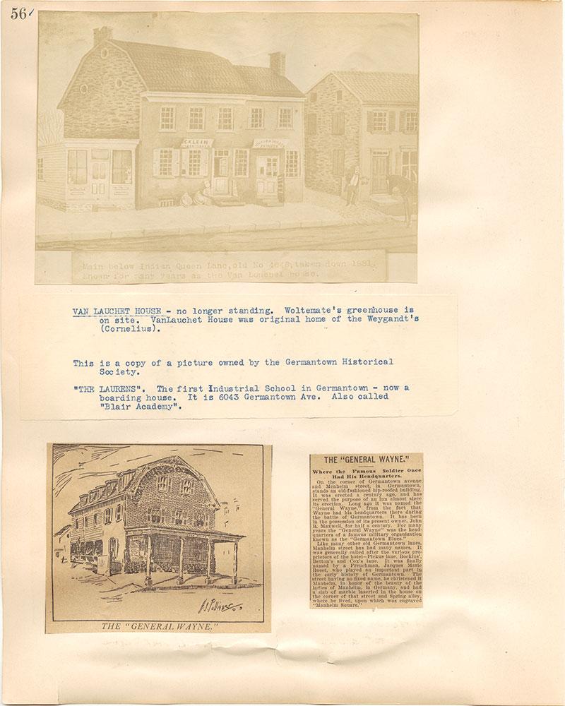 Castner Scrapbook v.38, Germantown 2, page 56