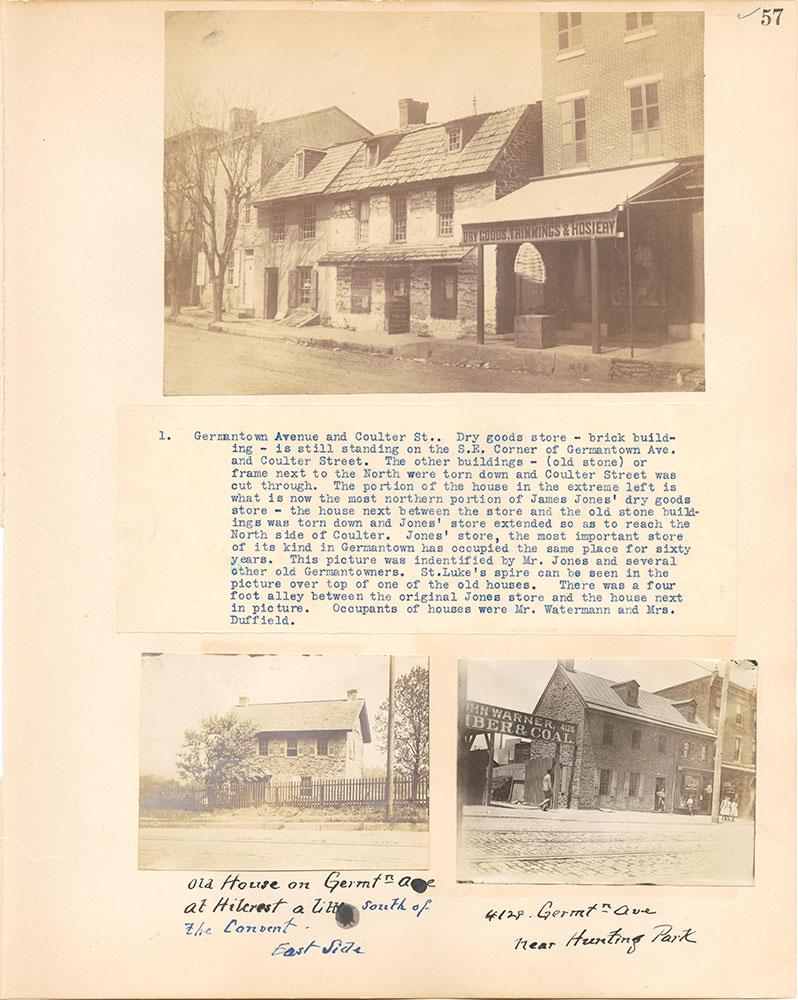 Castner Scrapbook v.38, Germantown 2, page 57