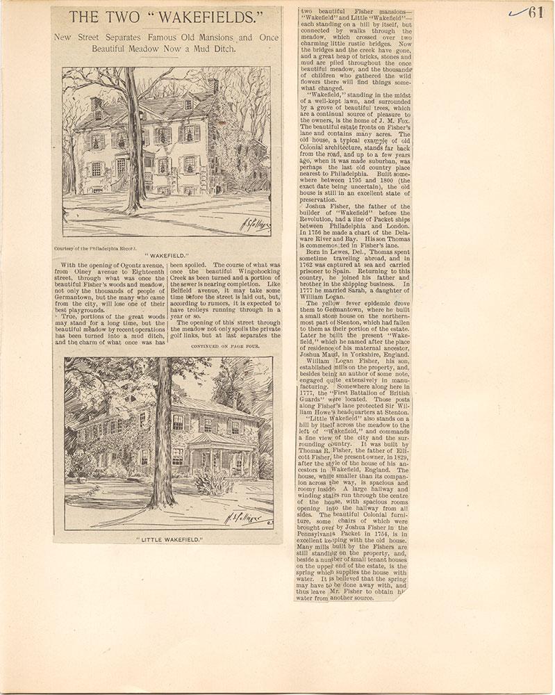 Castner Scrapbook v.38, Germantown 2, page 61