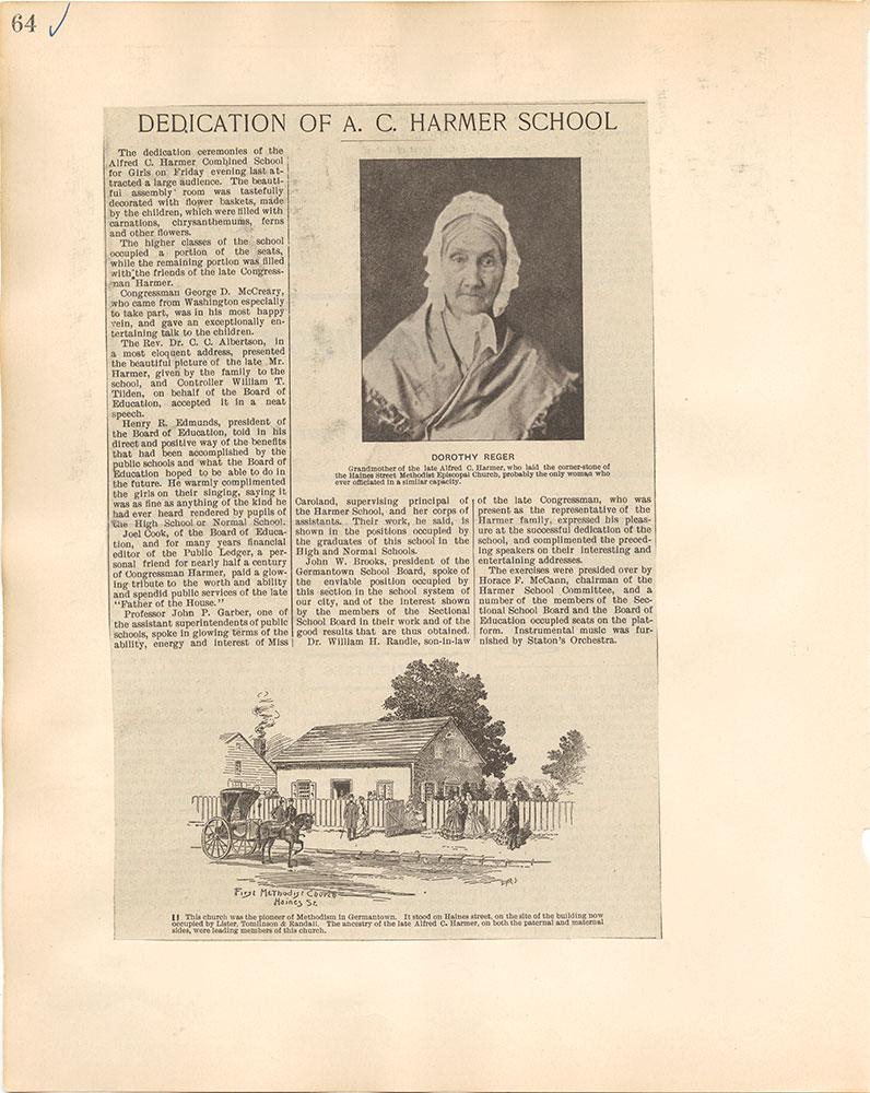 Castner Scrapbook v.38, Germantown 2, page 64