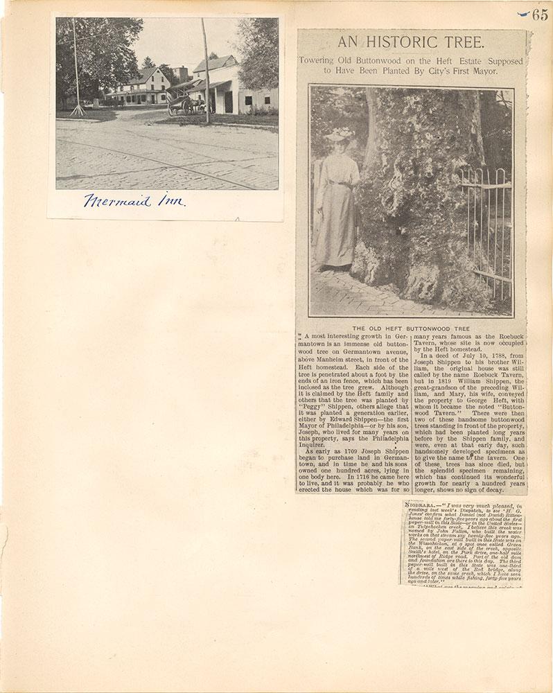 Castner Scrapbook v.38, Germantown 2, page 65