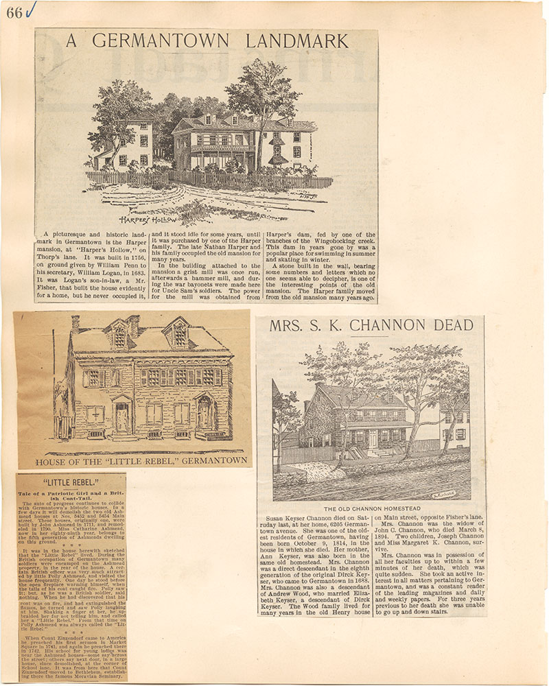 Castner Scrapbook v.38, Germantown 2, page 66