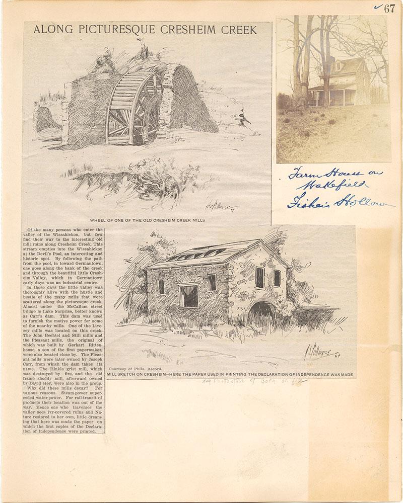 Castner Scrapbook v.38, Germantown 2, page 67