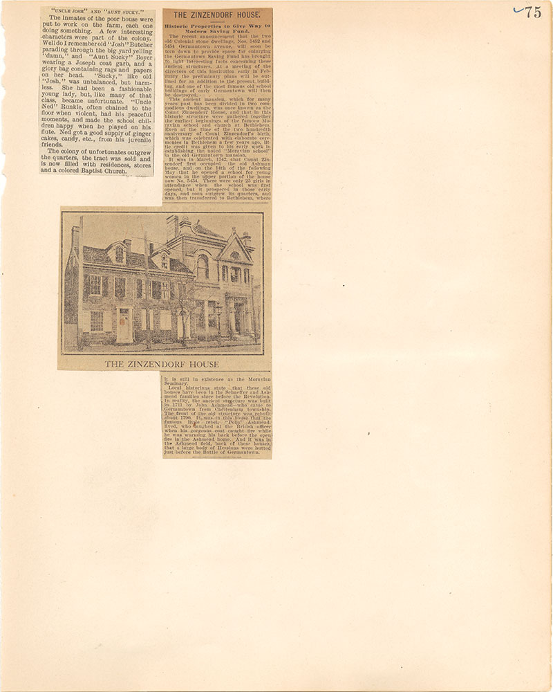 Castner Scrapbook v.38, Germantown 2, page 75