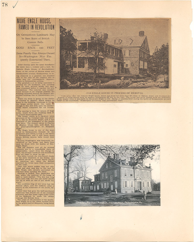Castner Scrapbook v.38, Germantown 2, page 78