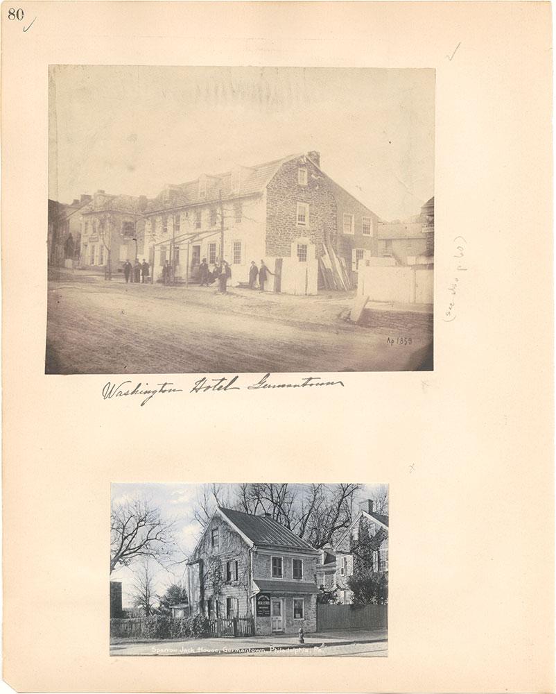 Castner Scrapbook v.38, Germantown 2, page 80