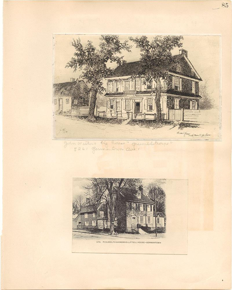 Castner Scrapbook v.38, Germantown 2, page 85