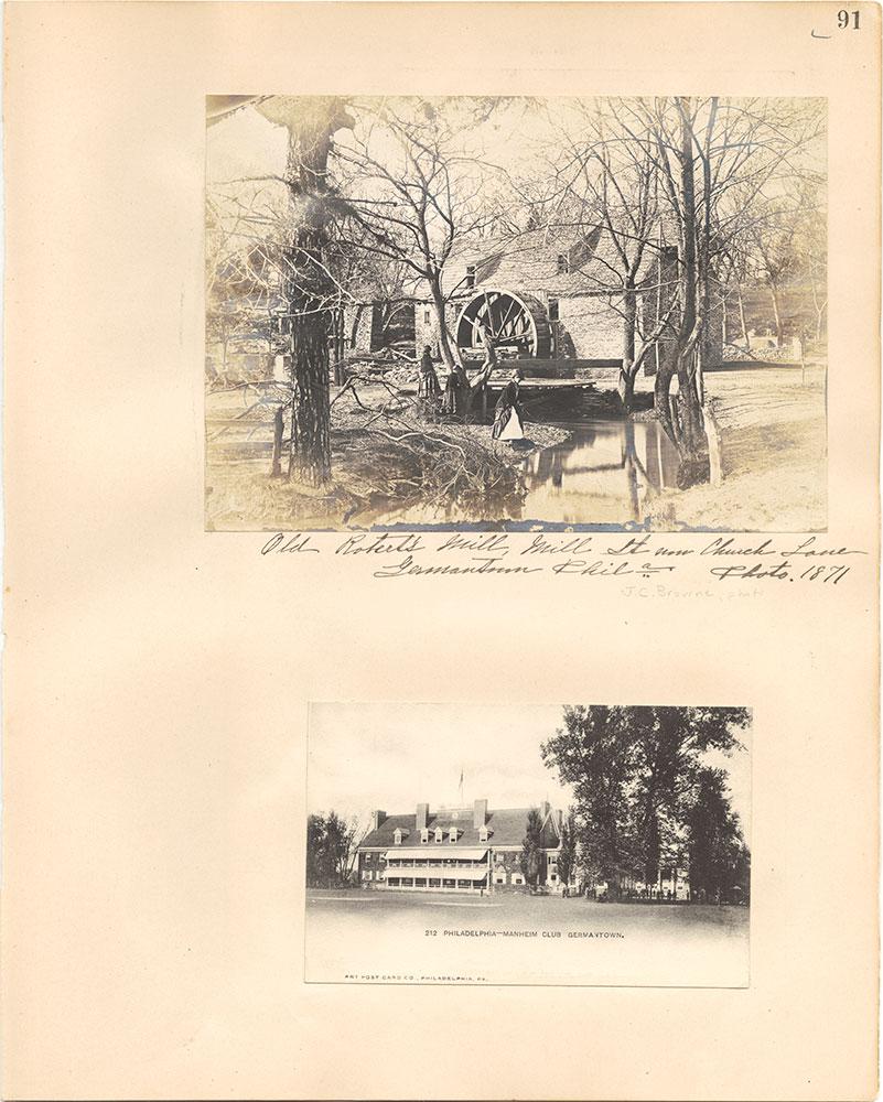 Castner Scrapbook v.38, Germantown 2, page 91