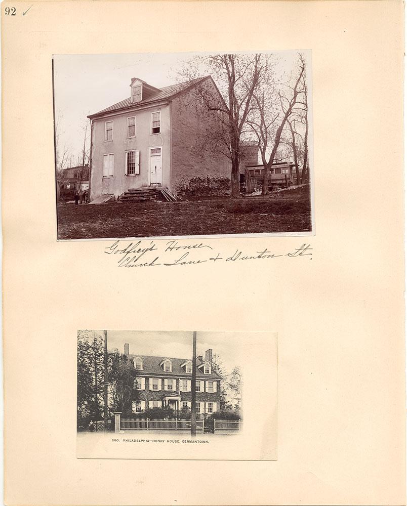 Castner Scrapbook v.38, Germantown 2, page 92