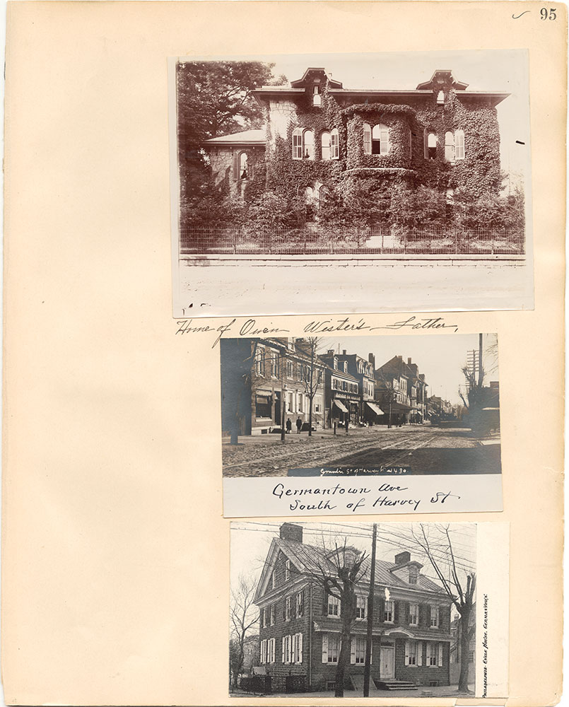 Castner Scrapbook v.38, Germantown 2, page 95