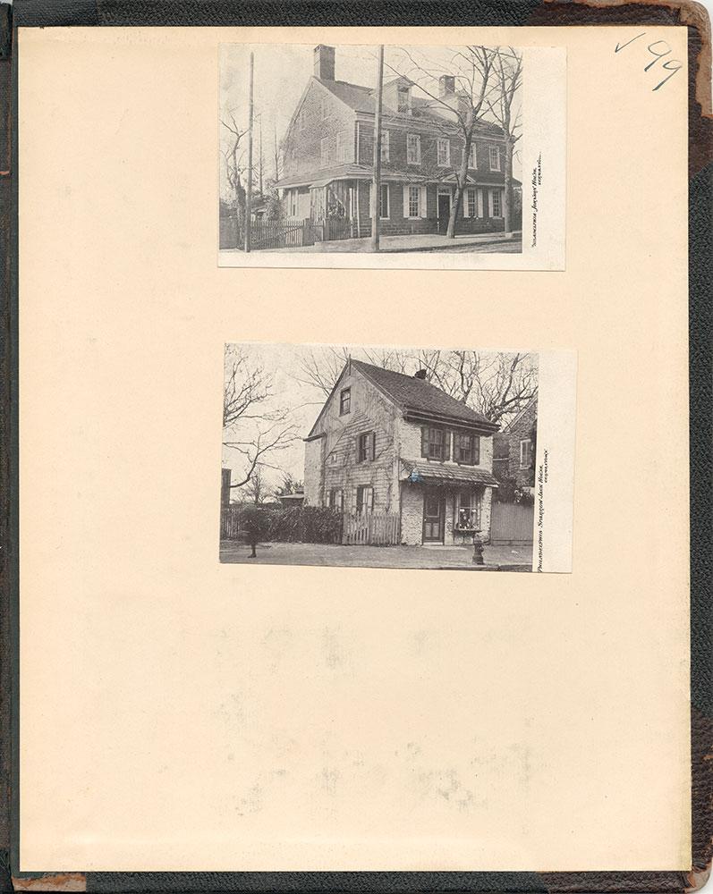 Castner Scrapbook v.38, Germantown 2, page 99 (inside back cover)