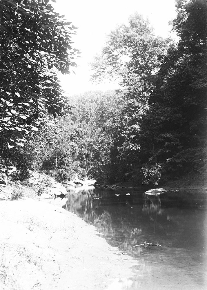 On the Wissahickon near Seven Mile Stone