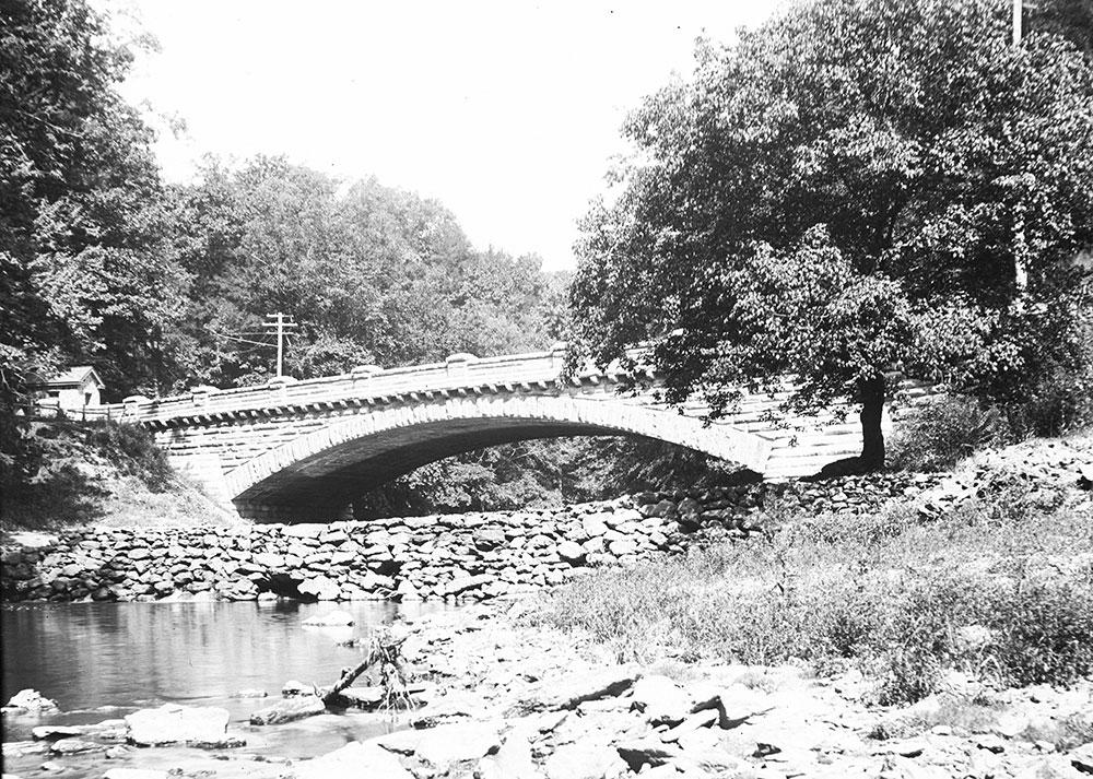 The New Stone Bridge across the Wissahickon