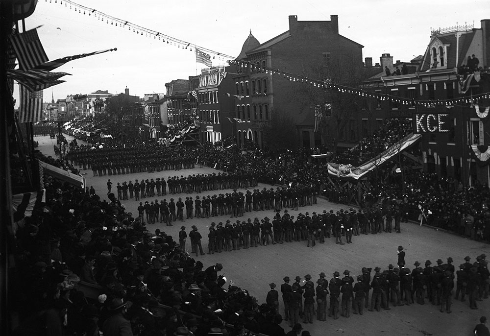 3rd Reg't. Philadelphia Vols. Peace Jubilee Parade