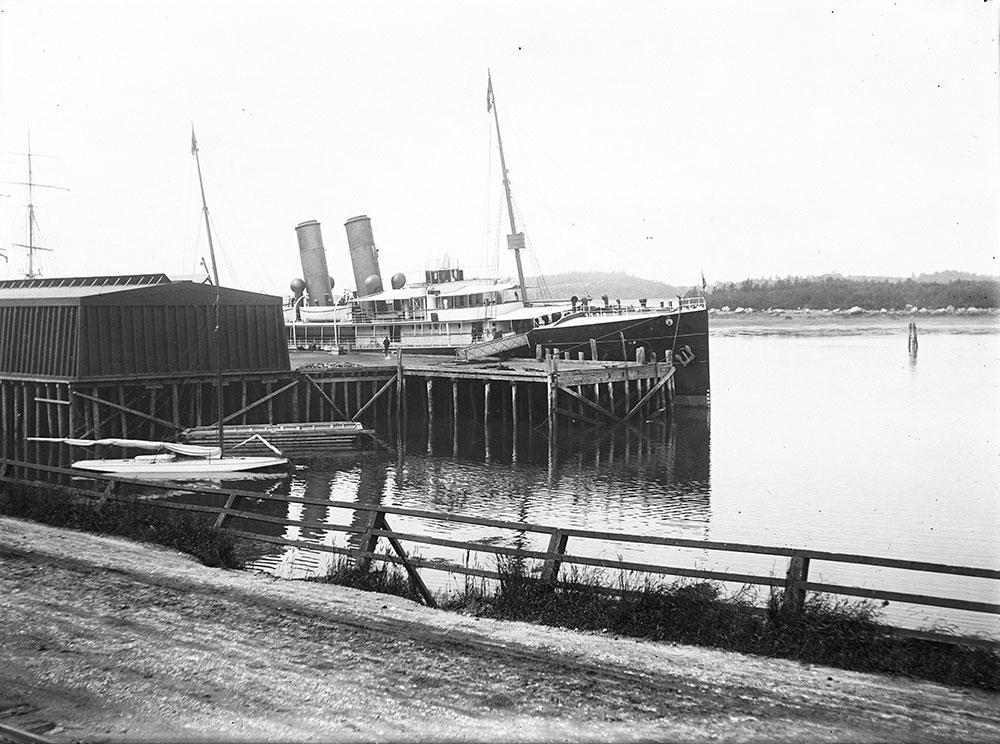 Boat Landing, Yarmouth, N.S.