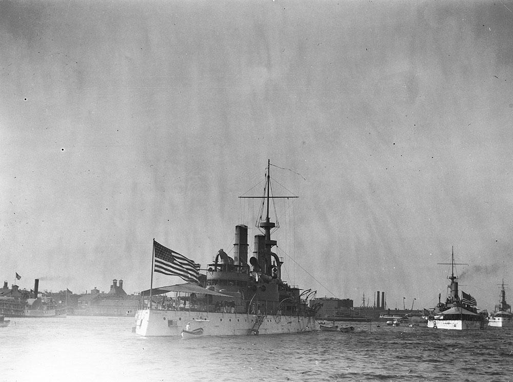 Admiral Sansom's Squadron, Delaware River