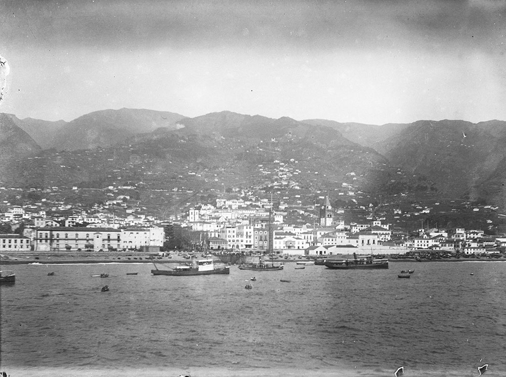 View of Funchal from Steamer