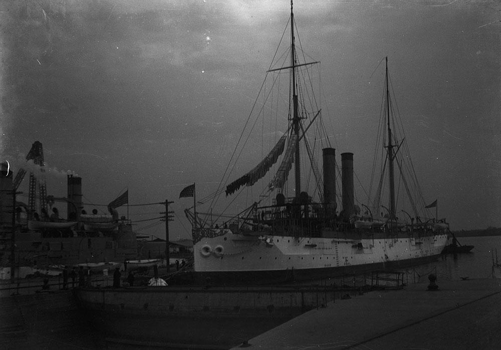 League Island, U.S. Cruiser