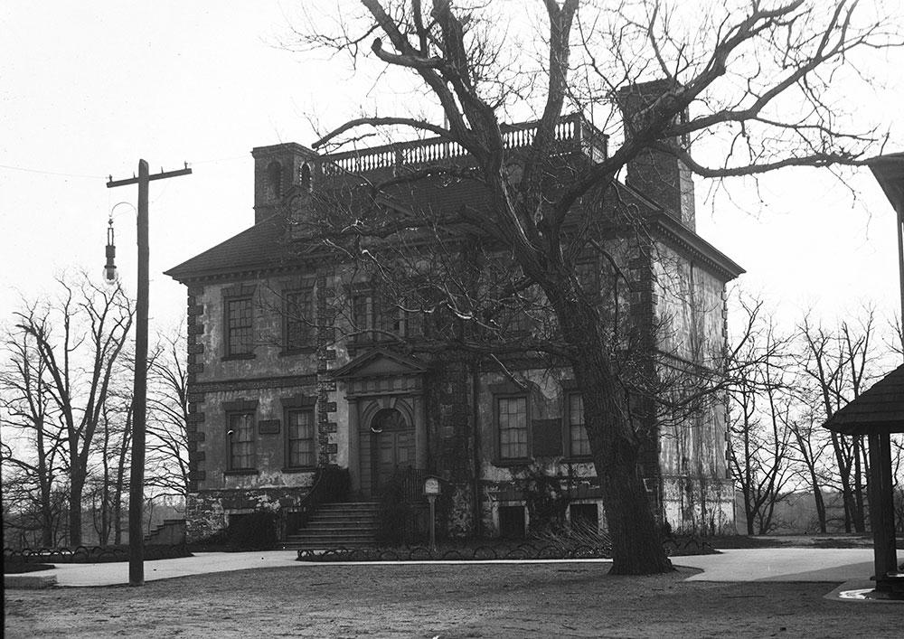Fairmount Park, Mt. Pleasant Mansion (1761), Drive Front