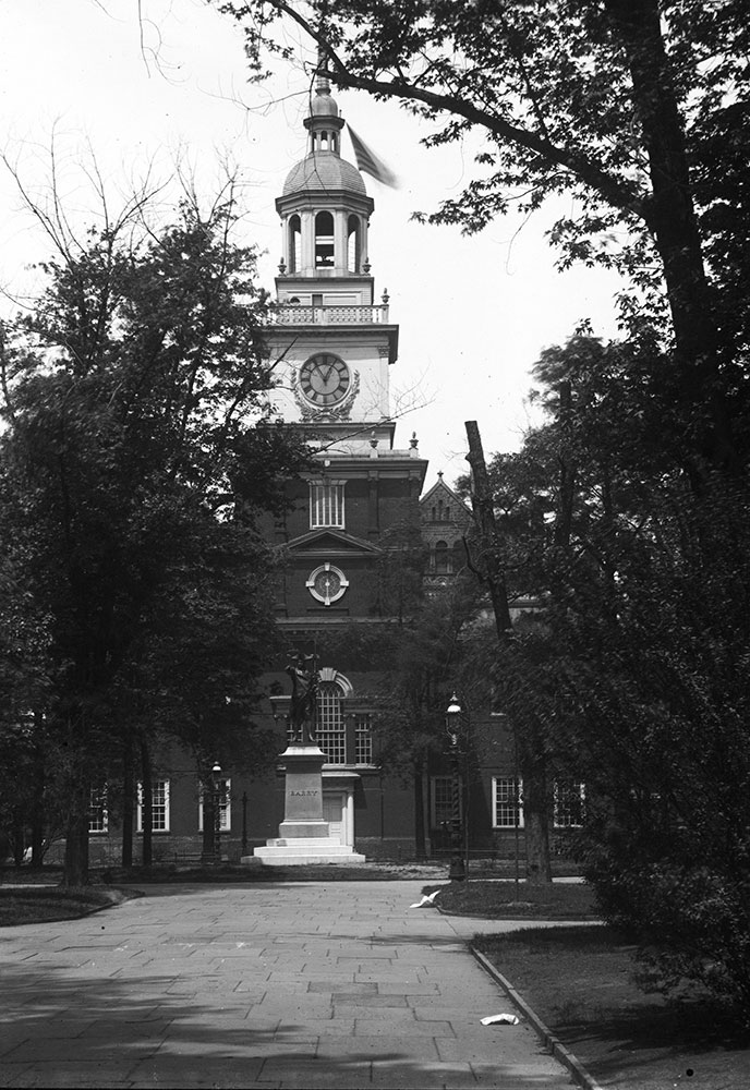 Independence Hall from Square