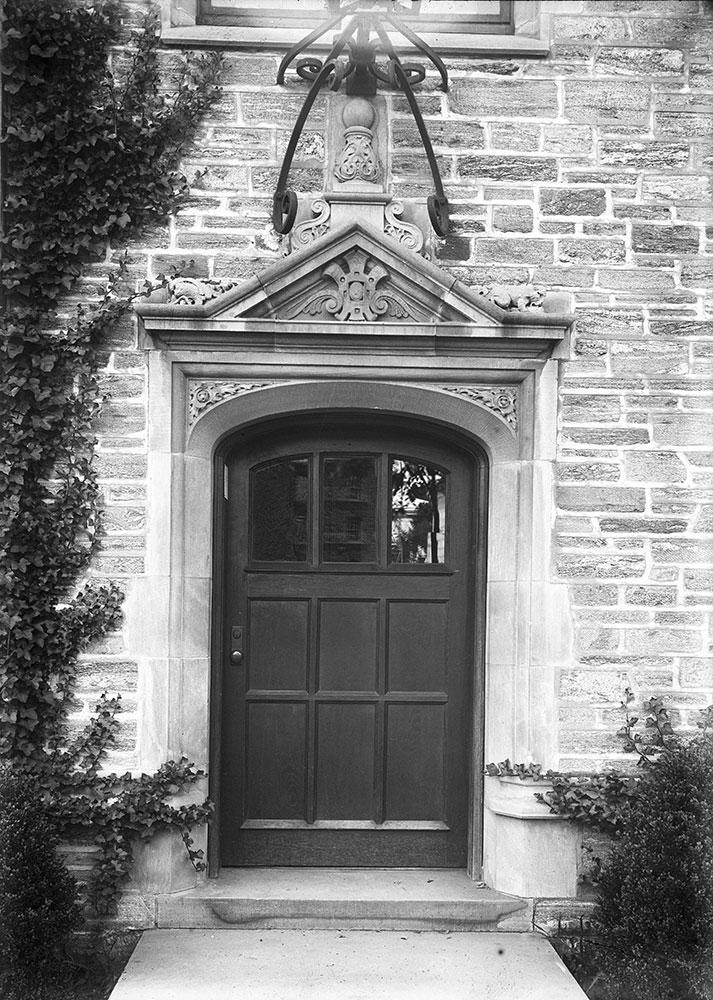 A Dormatory Door