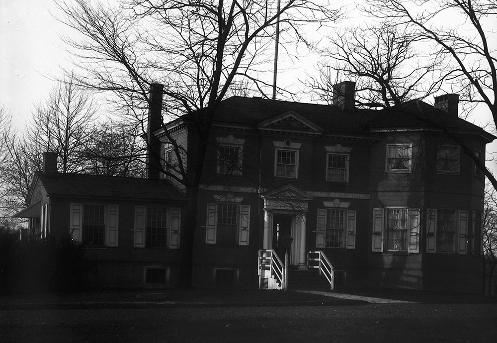 Randolph Mansion, View of the House
