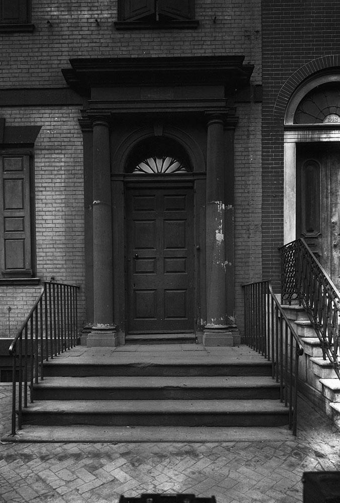 Powell House, Detail of Door