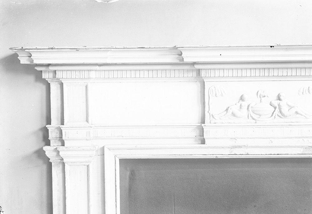 Detail of Colonial Mantle, belonging to H. L. Duhring, Jr.