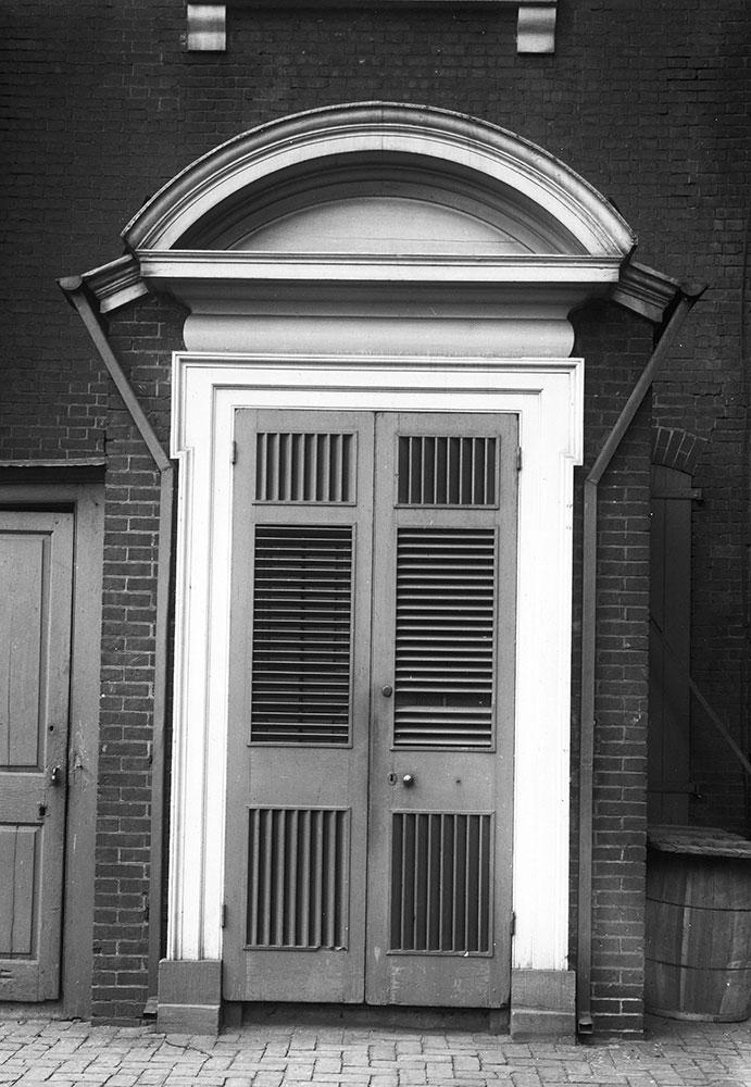 St. Peter's Church, Side Doorway Detail