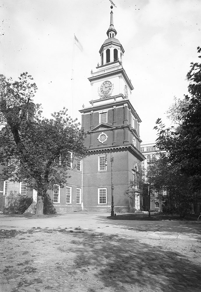 Independence Hall, View of the Tower