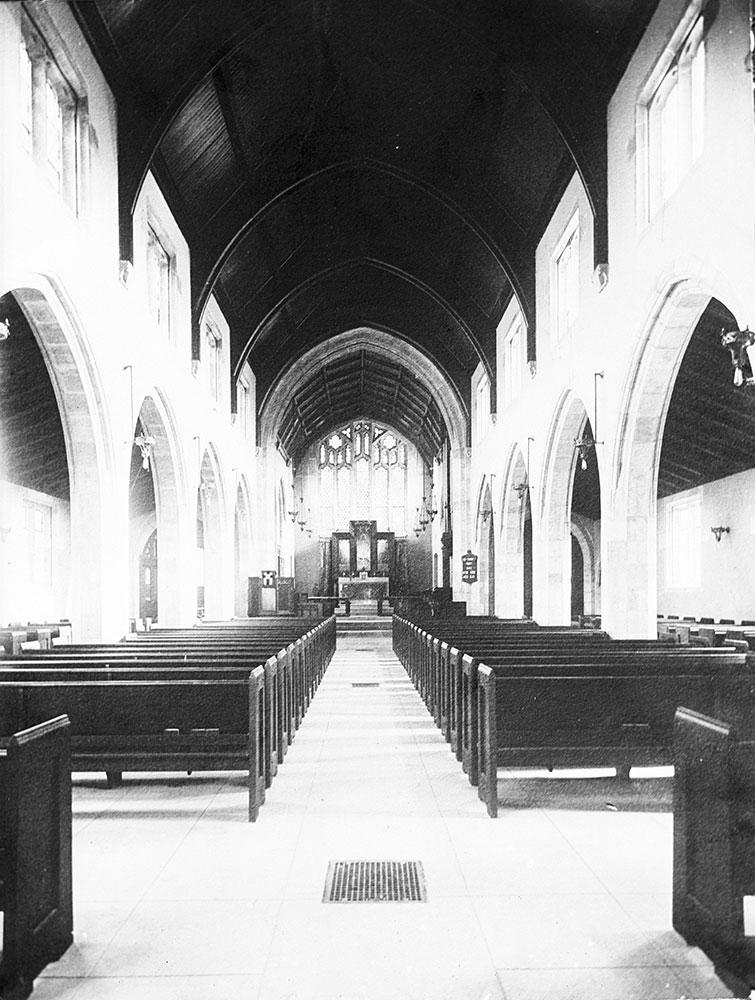 Christ Church, Interior View