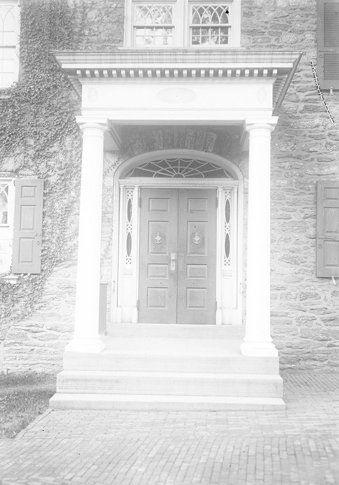 Germantown Academy, The Entrance