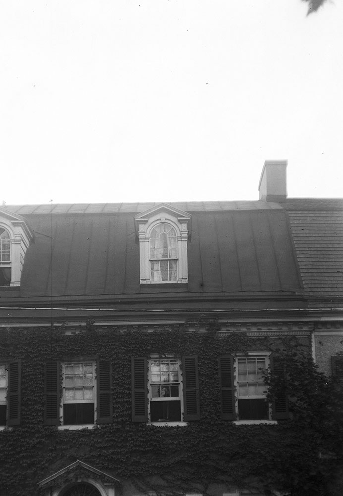 Detail of Cornice and Dormer