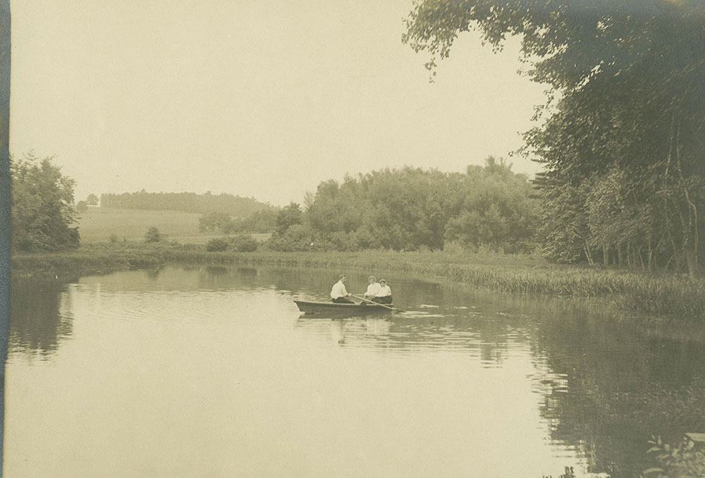 Boaters on Lake