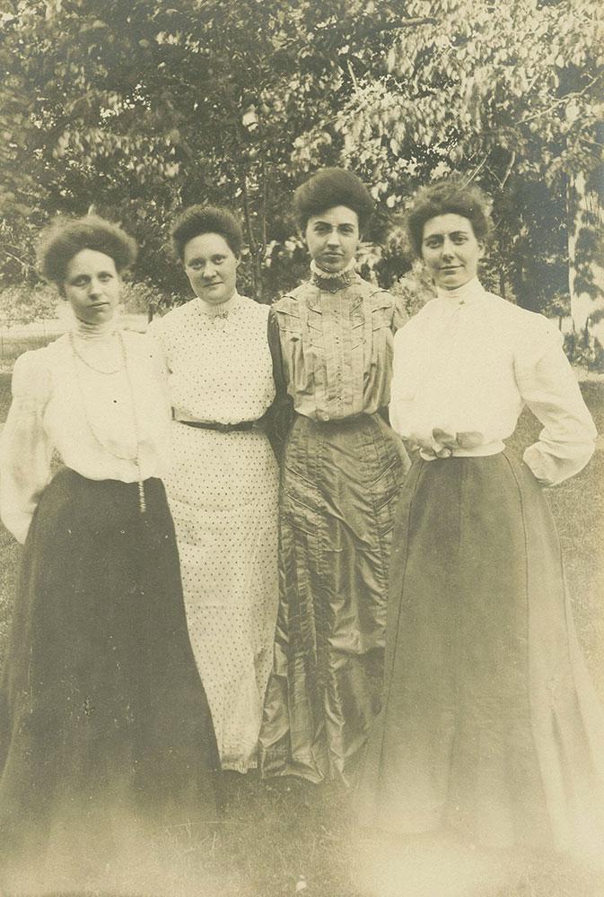Women on Lawn